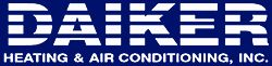 Daiker heating air conditioning logo